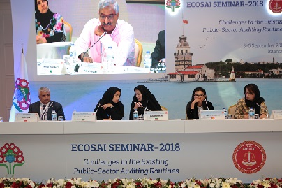 SAC Delegation Participated in the ECOSAI Seminar-2018