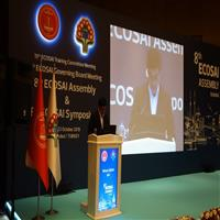 A High Delegation from SAC Attended the 8th ECOSAI General Assembly in Turkey – Istanbul, 2019
